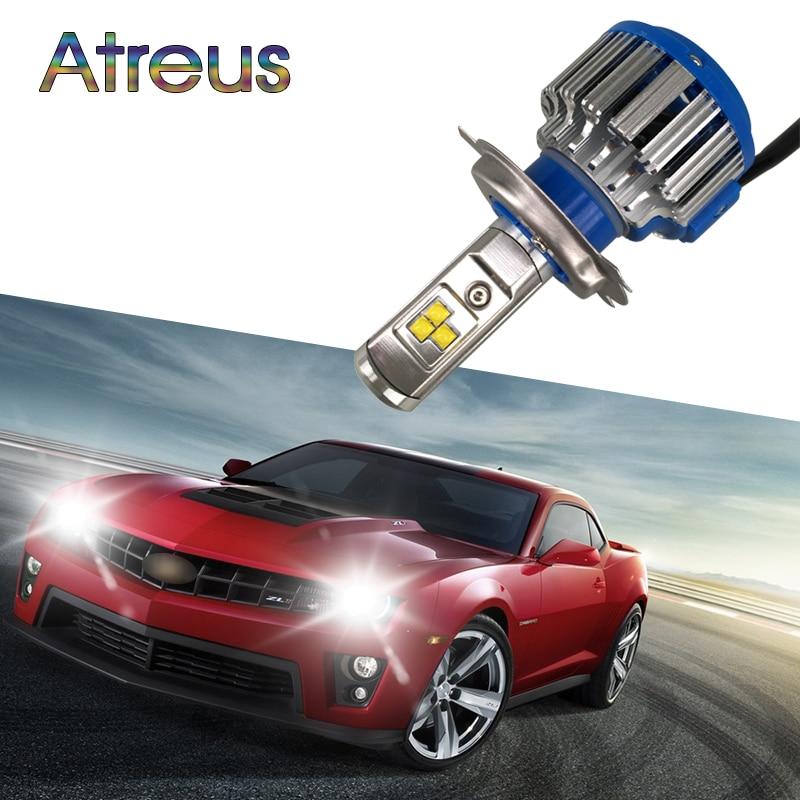 Atreus H4 автомобилей светодиодные фары H4 Hi/lo H13 9007 9004 40 Вт X2 6000 К лампа Repalcement bi ксеноновые фары для Renault Mazda 3 6 Toyota