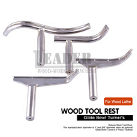 Carpentry Lathe Tool Rest for Wood Lathe Woodworking special-shaped lathe tool Curved woodturning tools