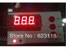 Бесплатная доставка 10 шт. 5631AS 3 — цифры 0.56 красный из светодиодов дисплей общим катодом