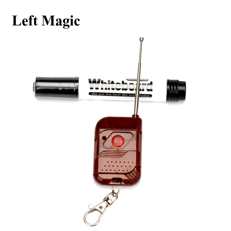 3 unids / lote Mystical Power Mental Power Pen Control Remoto Apareciendo Trucos Mágicos Shock Remote Pen Close Up Magic Props Ilusión