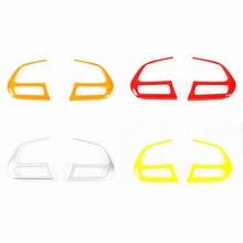 Для Джип Ренегат компас 2017 + рулевого колеса автомобиля украшения отделкой рулевого колеса укладки пайетки 2 шт./компл. abs 4 цвета