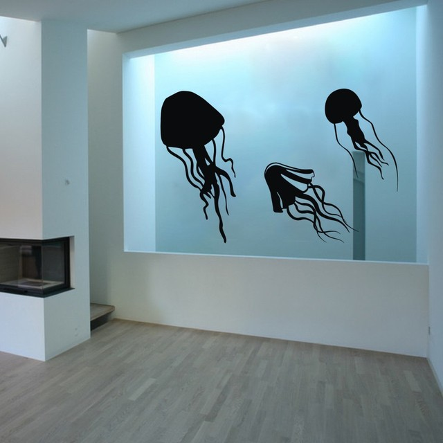 Online Shop Jellyfish Tentacles -Vinyl Wall Decal wall Sticker ...