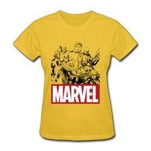 Woman Top T-shirts Marvel Avengers Endgame Heroes Camisa Tops T Shirt Superman Infinite War 100% Cotton Crazy Tee-Shirt