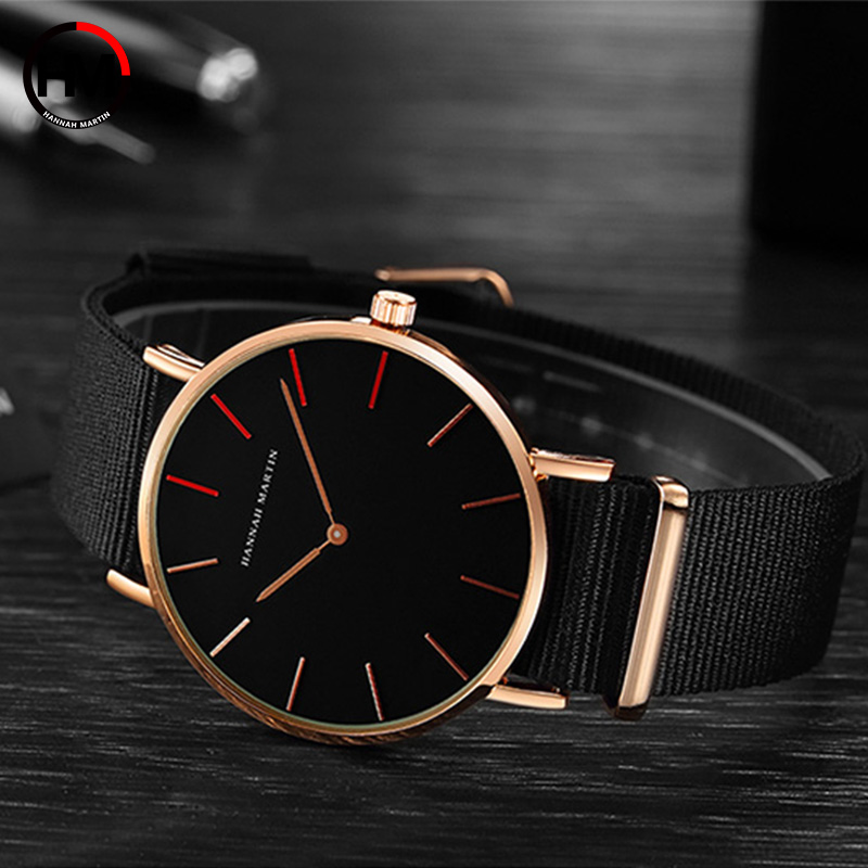 Marca Japón Quartz Men Women Relojes de pulsera de lujo Ultra Thin - Relojes para hombres - foto 5