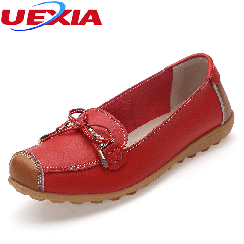 High Quality Breathable Ballet Shoes PU Leather Casual Work Shoe Solid Female Flats Shoes Women Moccasins Flat Heel Cow Muscle top brand high quality genuine leather casual men shoes cow suede comfortable loafers soft breathable shoes men flats warm