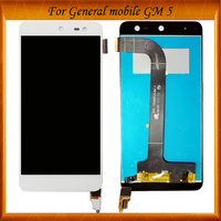 100% Working Well For General Mobile GM5 LCD Display Digitizer Glass sensor Replacement For General Mobile GM 5