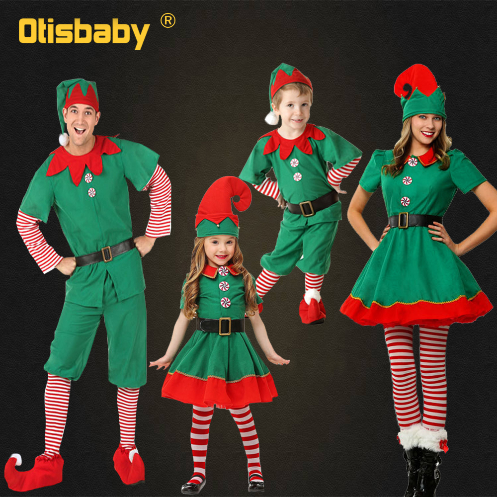 Halloween Mother & Kids Matching Family Outfits Mom And Daughter Christmas Dress Father Son Matching Suits Mommy And Me Clothes
