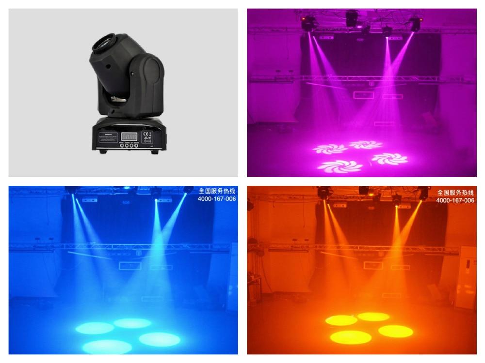 2pcs/lot, Mini Spot 10W / 30W Led Moving Head With Gobo Plate&Color Plate,High Brightness 10W Mini Led Moving Head Light DMX512 стоимость