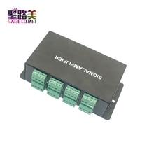 HC800 DC12V 24V 8 canaux 8CH SPI TTL signal synchroniseur LED amplificateur 8 ports sortie pour rêve couleur pixel led bande lumineuse