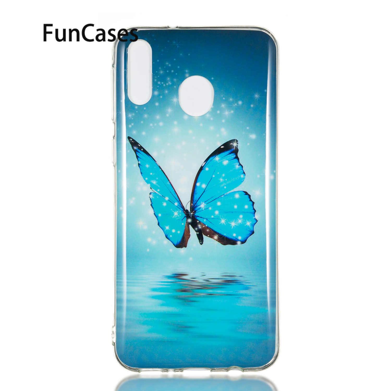רך סיליקון מעטפת עבור Samsung Samsung M20 sFor Samsung Galaxy סלולארי M20 Coques Smartphone מקרה נייד טלפון carcasa
