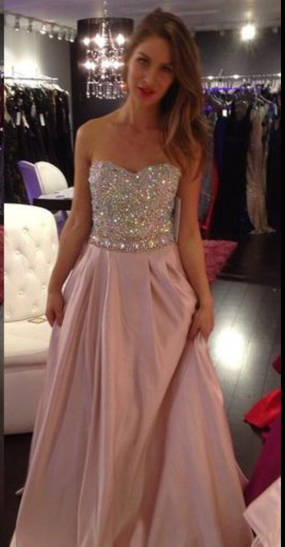 Stunning Pink Sparkly Prom Dress Images - Styles & Ideas 2018 - sperr.us