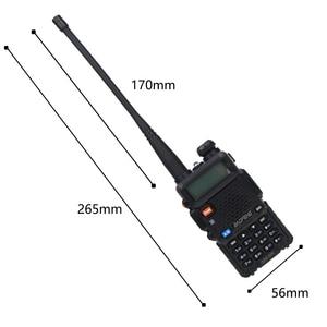 Image 4 - Baofeng UV 5R Two Way Radio Mini Portable 5W Dual Band VHF UHF Walkie Talkie UV5R 128CH FM Transceiver Hunting Ham Radio Scanner