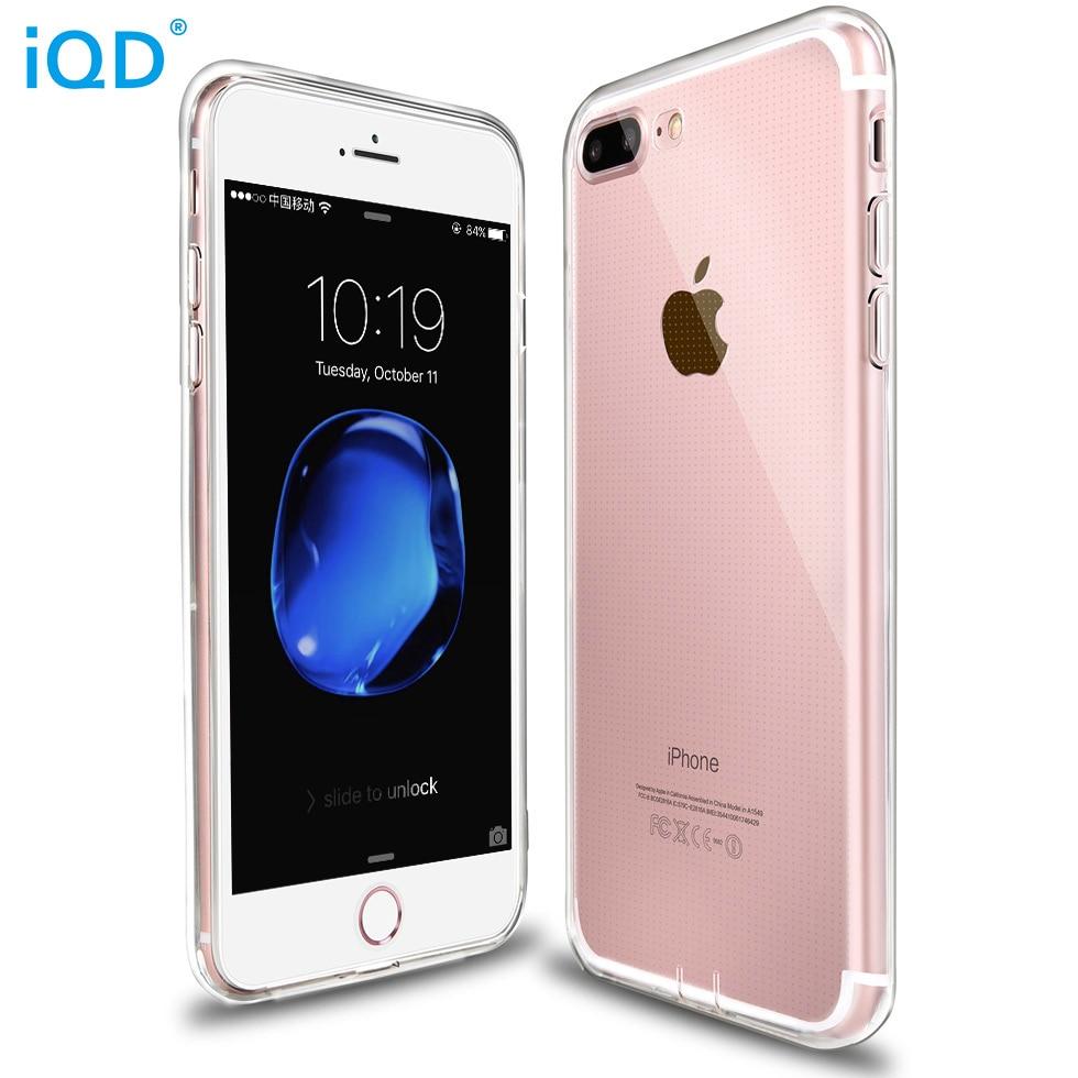 IQD iPhone X 8 7 Plus- ի պատյանների համար բարակ - Բջջային հեռախոսի պարագաներ և պահեստամասեր - Լուսանկար 2
