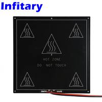 Aluminum Plate MK3 Heated Bed 214X214mm PCB Heatbed MK3 Dual Power Hot Bed For 3d Printer
