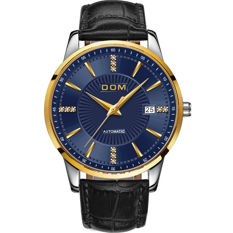 2018 DOM Brand Male Automatic mechanical Sport Watch Men Luxury - Men's Watches