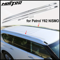 new arrival luggage bar roof rack roof rail for Nissan Patrol Y62 2013 2018, from ISO9001 factory quality,promotion price 7days