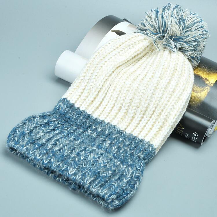 قبعة صوف دافئة نسائية 13