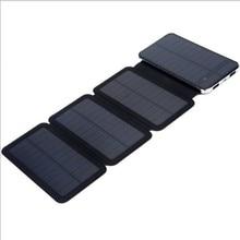 Batería Solar Luces de Carga Por el Sol Al Aire Libre 4x Paneles Solares 6 W Cargador Rápido de Batería Externa de Energía Tangible Al Por Mayor Al Por Menor