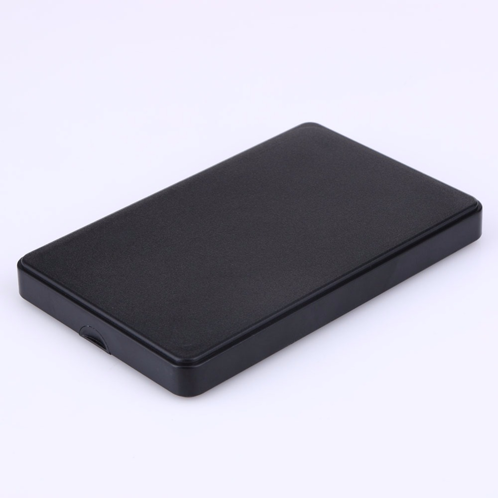 2.5 Inch Slim Portable HDD Enclosure USB 2.0 External Hard Disk Case SATA Hard Disk Drives HDD Case with USB Cable and Pouch Hot anti shock 2 5 hard disk 250g hdd enclosure sata to usb 3 0 hdd case with rubber hd case externo hdd 2 5 external hard disk
