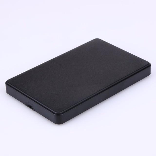 2.5 pouce Mince Portable Hdd USB 2.0 Externe Pour Disque Dur SATA Disques Durs HDD Cas avec USB câble et Pochette