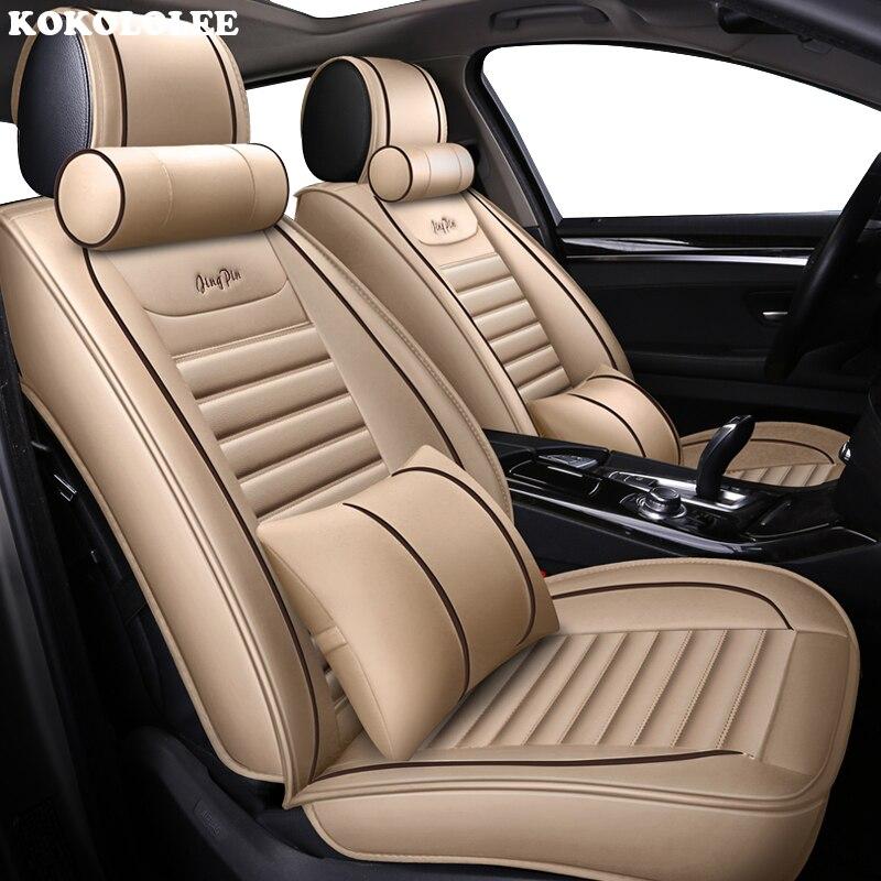KOKOLOLEE housse de siège auto pour mercedes benz tous les modèles w124 w202 w203 w211w212 w245 accessoires auto sièges auto