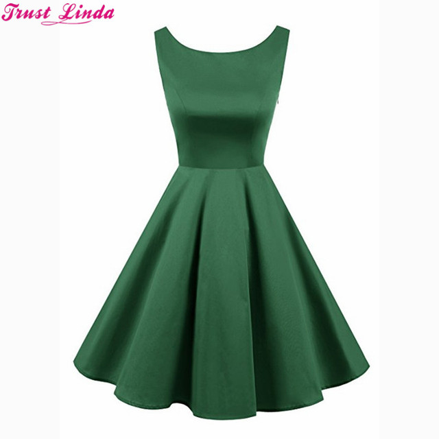 51e2075c24b2 Wholesale Simple Short Bridesmaid Dresses 2018 Green Short Satin Lace Up  Back Knee Length wedding party Wear Gowns Prom dresses