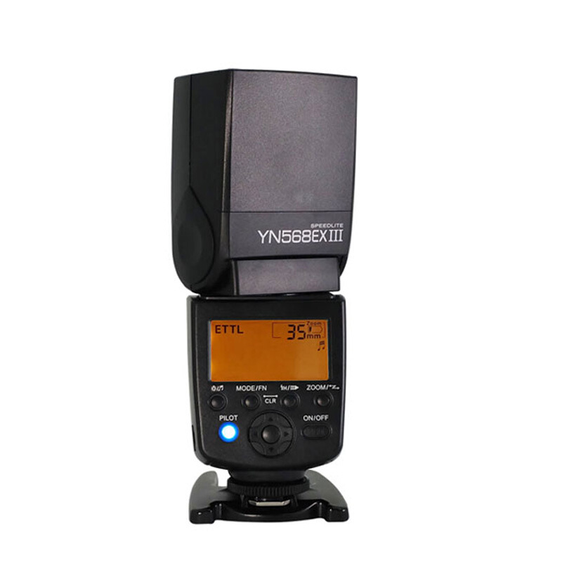 YONGNUO Upgraded YN568EX III TTL HSS Master Slave Wireless Speedlight Flash Speedlite For Canon / Nikon DSLR Camera YN-568EX III for nikon canon dslr camera speedlite hss 1 8000s ttl flash speedlight inseesi in586exii vs yongnuo yn565ex yn568ex yn 565ex