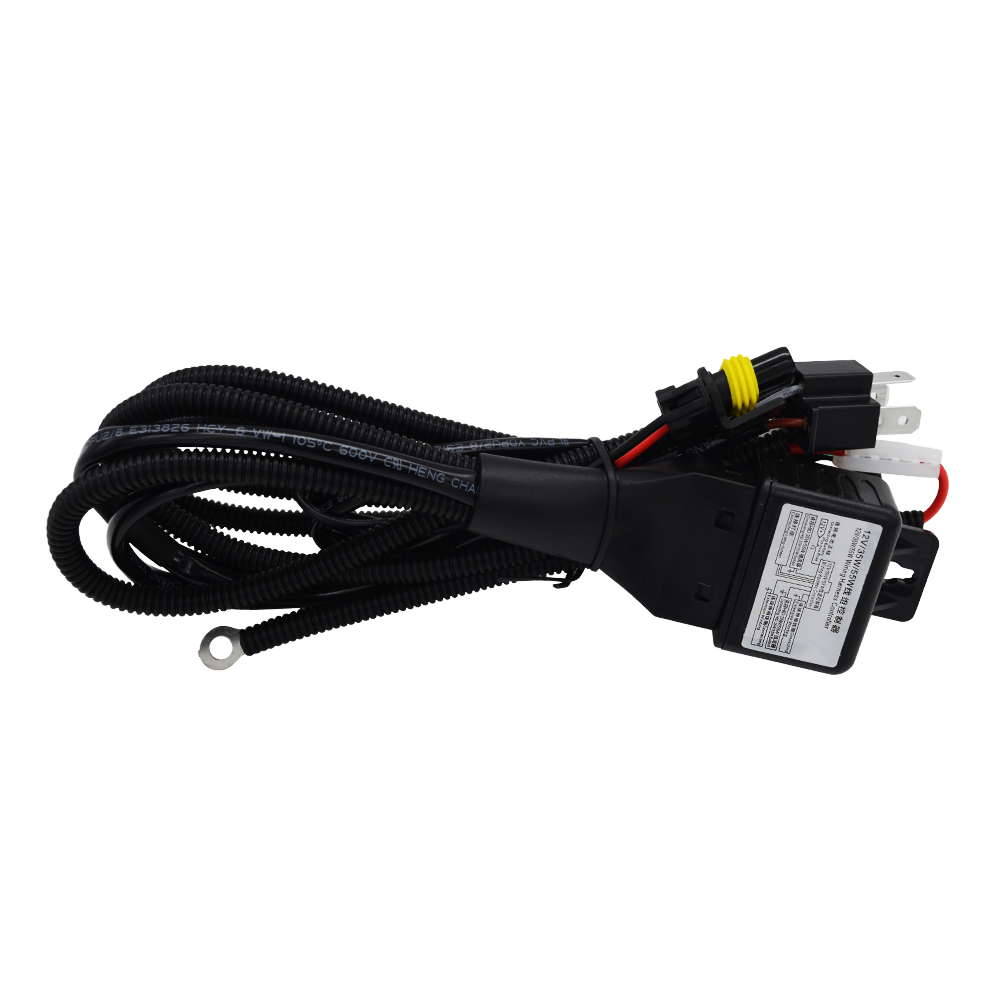 SKYJOYCE 12V 35W 55W H4 Bixenon H4-3 Relay Harness Wire For Car HID Headlamp H4 Xenon Bulb Kit H4 HID Relay Harness Controller