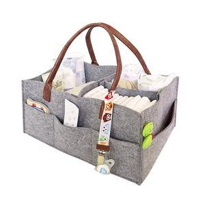 Image 5 - Новинка органайзер для детских подгузников с ручкой, портативная корзина для хранения подгузников, автомобильные сумки для детского душа, подарочная корзина