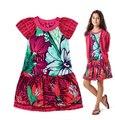 2017 nuevo verano muchachas del estilo francés estampado de flores corto princess tutu vestidos de diseñador bebé catimini vestido 3-12y