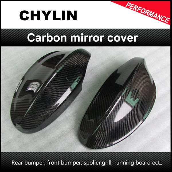 Top quality E90 carbon fiber Auto side mirror cover, Car mirror covers for Bmw E90 Car mirror caps direct replacement carbon fiber wing mirror covers for bmw x5 f15 x6 f16 facelift auto side mirror caps car styling