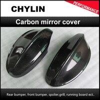 Top quality E90 carbon fiber Auto side mirror cover  Car mirror covers for Bmw E90 Car mirror caps
