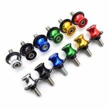 6 8 10 mm Motorcycle Swingarm Spools slider stand screws Motorcycle Accessories For ALL kawasaki Z 2R-1200S ZX-4F3 ZX-6 NINJA