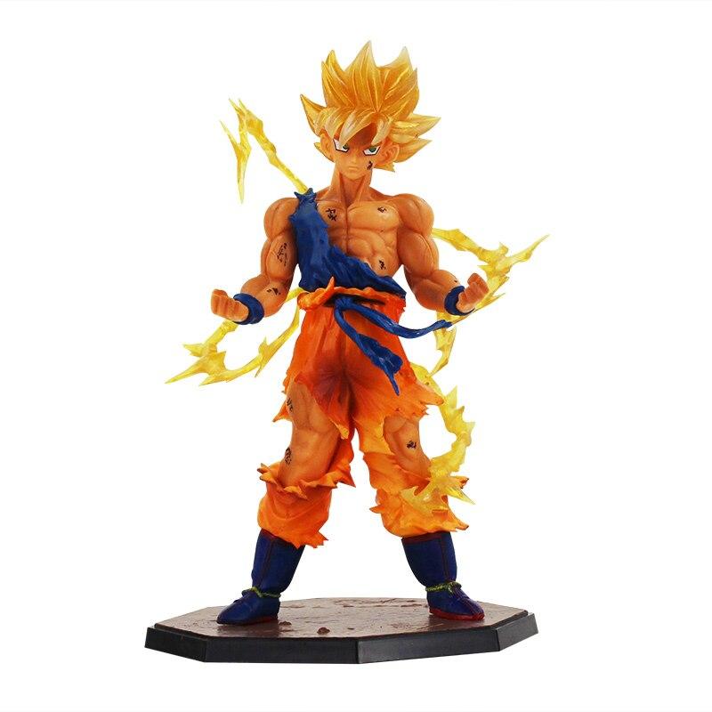 웃 유Anime Dragon Ball Z hijo gokou Sol Goku figura juguete modelo ...