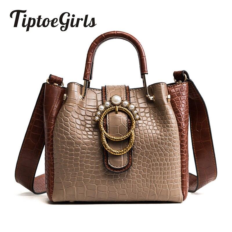 New Winter Handbag Hit Color Stone Handbag Korean Version of the Pearl Bag Large Capacity Simple Casual Shoulder Messenger Bag