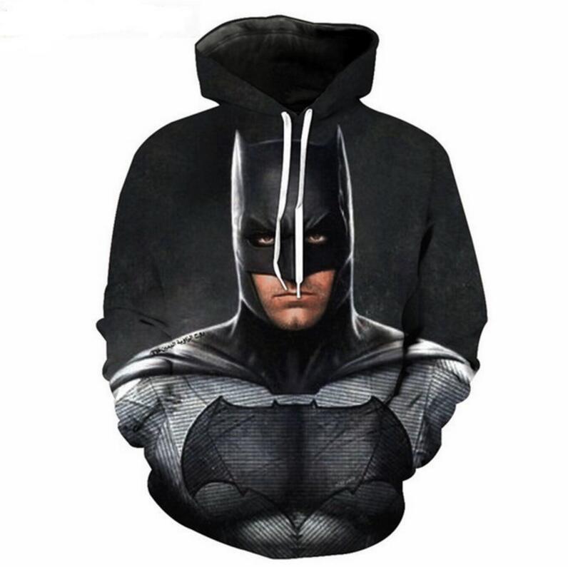 Batman The Dark Knight 3D Printed Hoodie Tops Sweatshirts Coat Unisex Men Women Long Sleeve Causal Hip Hop Streetwear Jacket
