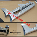 Modification Vintage Harley Straight Pipes Motorcycle Exhaust Muffler