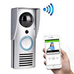 CUSAM Vídeo Porteiro Eletrônico WIFI Campainha Interfone Sem fio Telefone Video da Porta Intercomunicador Eletronico 720P HD Câmera Sensor de Movimento PIR Visão Noturna Desbloqueio Áudio Bidirecional