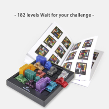 Board Game Maze Traffic Kids IQ Car Logic Game Puzzles Intellectual Educational Toys Rush Hour Toys For Children цена 2017