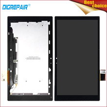 "10.1"" Black For Sony Xperia Tablet Z SGP311 SGP312 SGP321 LCD Display Digitizer Touch Screen Assembly Repair Part, Free Shipping(China)"