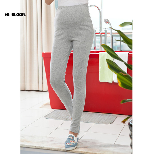 Autumn Winter Maternity Clothing Cotton Pants for Pregnant Women Promotion Price Elastic Waist Maternity Overalls Nice Trousers