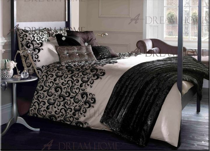 Flesh Pink And Black Bedding Set Luxury Promotion Duvet Cover Hot Bed In Sets From Home Garden On