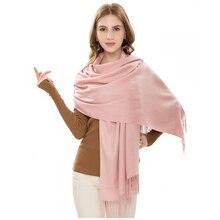 DENNYLITER Fashion 2019 New Spring Winter Scarves for Women Men Shawls and Wraps Solid Lady Long Head Scarf Foulard