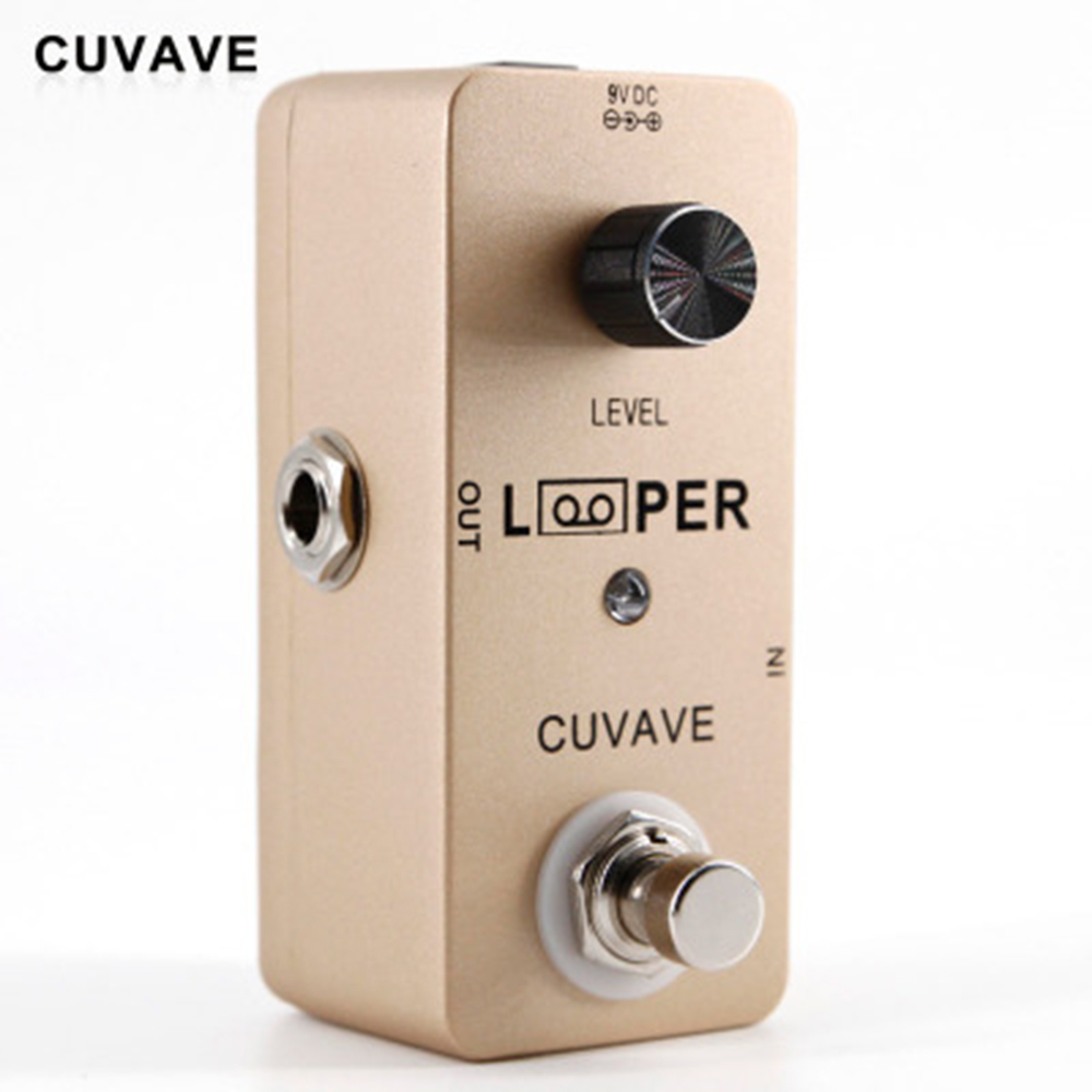 CUVAVE Looper Guitar Effect Pedal Effects Stompbox for Electric Guitar 5  Minutes Recording 24 bit Lossless Uncompressed Tone