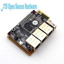 1 маршрутизатор для ПК som9331 ar9331 openwrt wifi модуль низкое энергопотребление 10 + GPIO 64 m