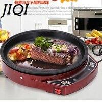 JIQI Electric Crepe Maker electrical grill Griddle baking pan Pizza Machine Pancake Roast beef steak frying Machine 1000w EU US