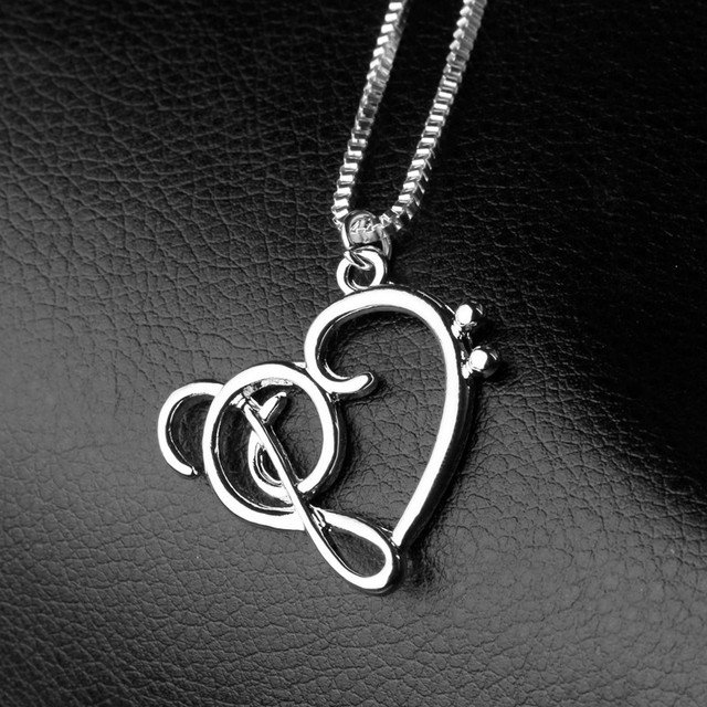 Tiny Music Note Note Symbol Heart Of Treble And Bass Clefs Infinity