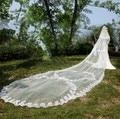 2015 The new high-end luxury lace flowers Ruansha long veil bridal veil