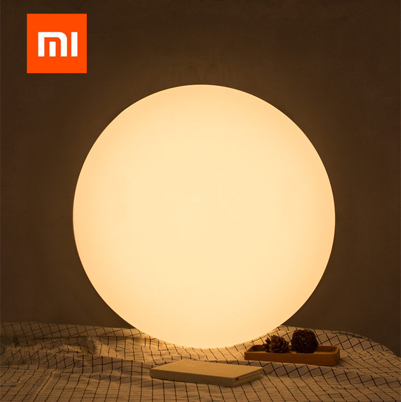 Xiaomi yeelight smart ceiling light mihome app wifi bluetooth remote control modern colorful led lights