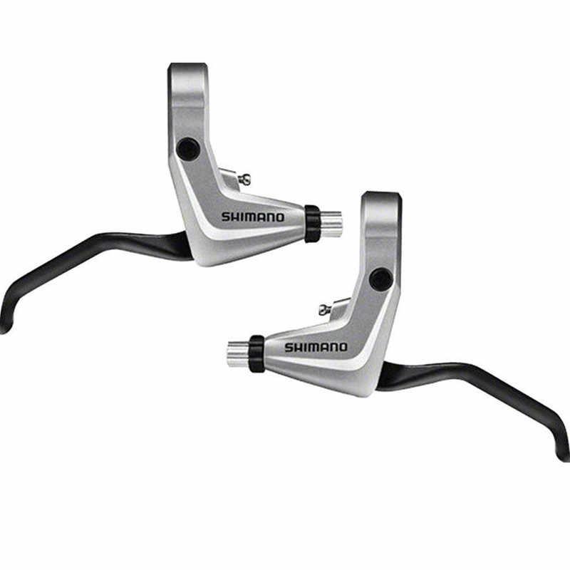 1 Pair Shimano Alivio BL-T4000 Liner V-Brake Levers 22.2 Handlebar For MTB